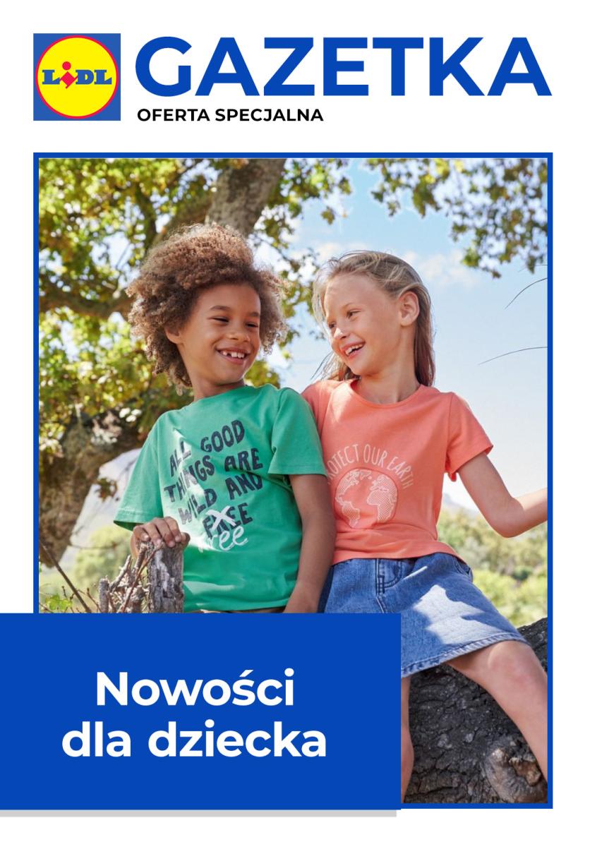 Gazetka Lidl - Nowości dla dziecka