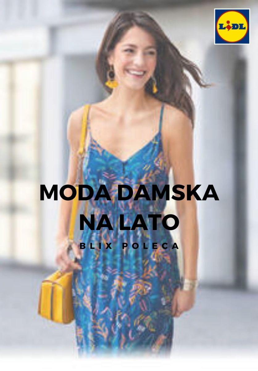 Gazetka Lidl - Moda damska na lato