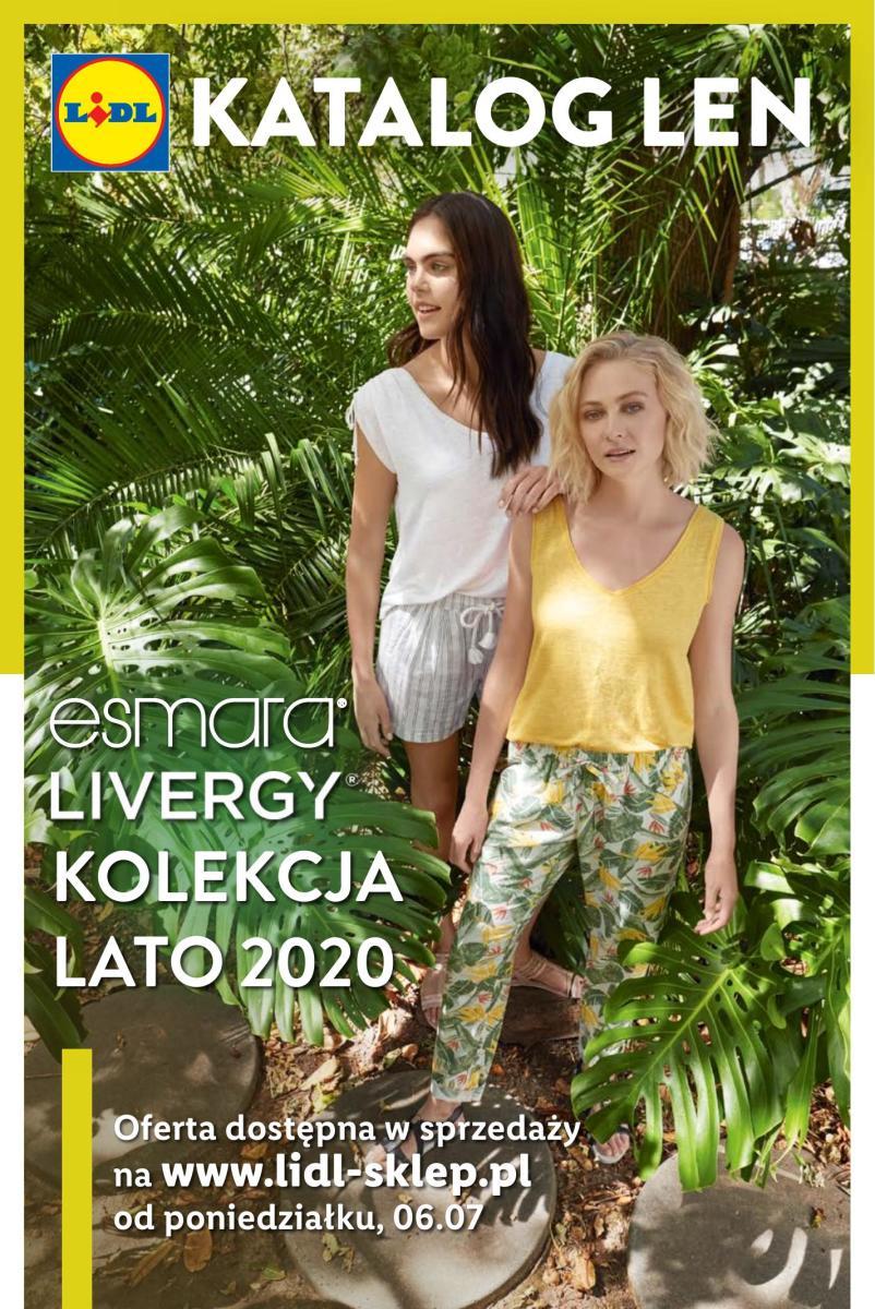 Gazetka Lidl - Katalog LEN - kolekcja lato 2020