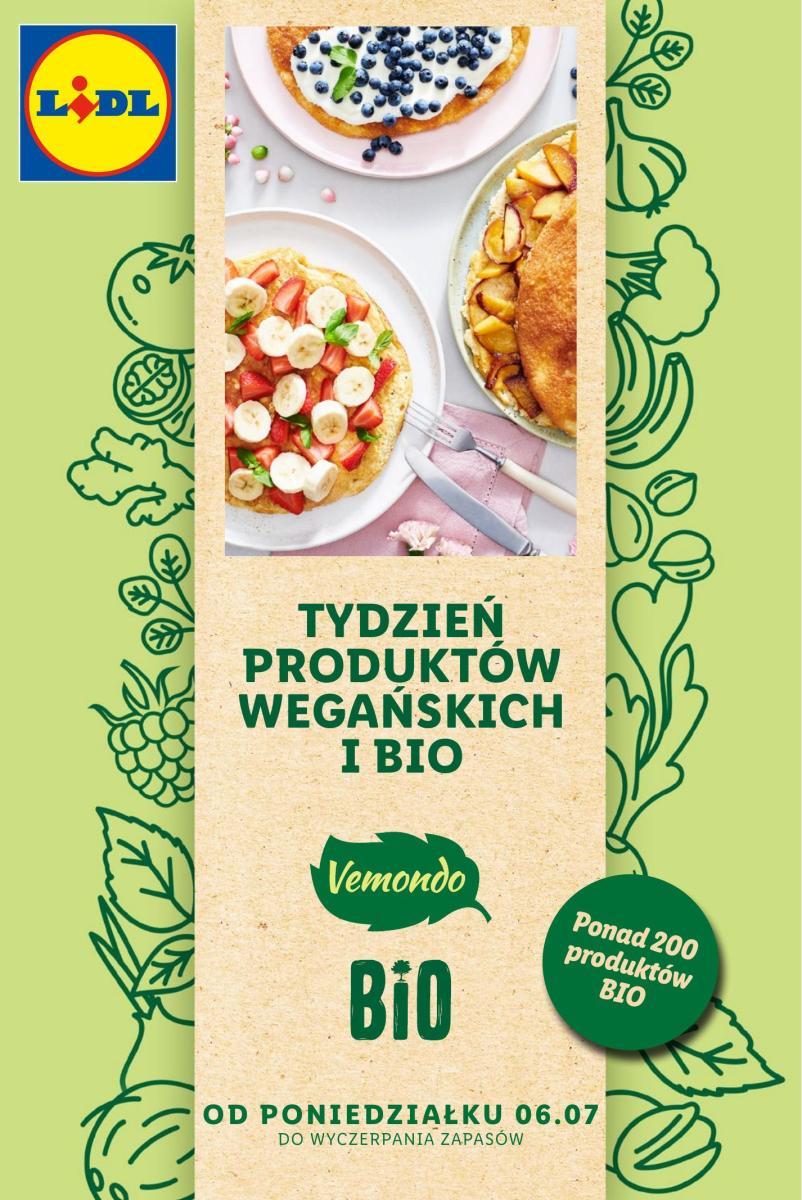 Gazetka Lidl - Tydzień produktów wegańskich i bio