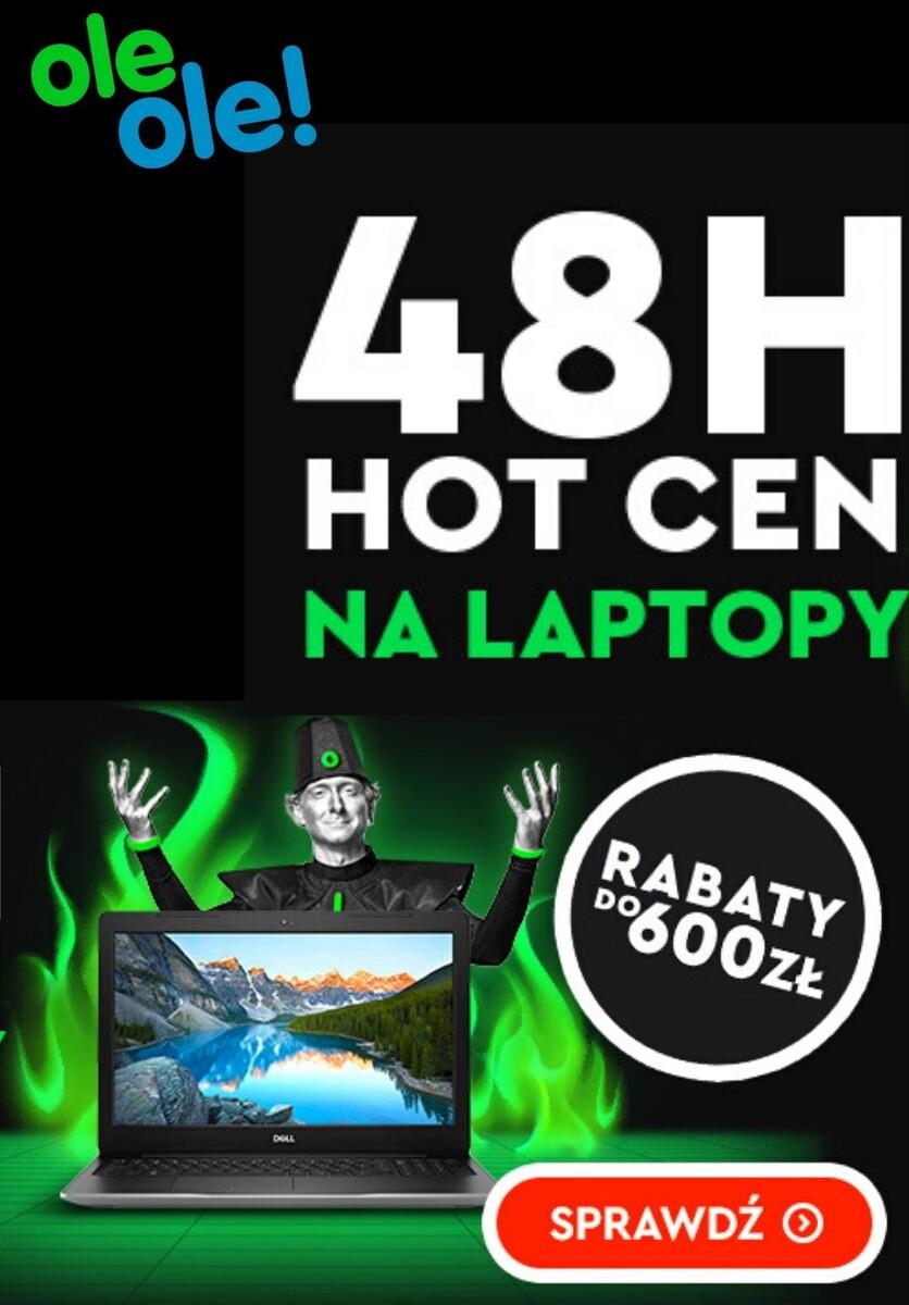 Gazetka OleOle! - Do -600 zł na laptopy