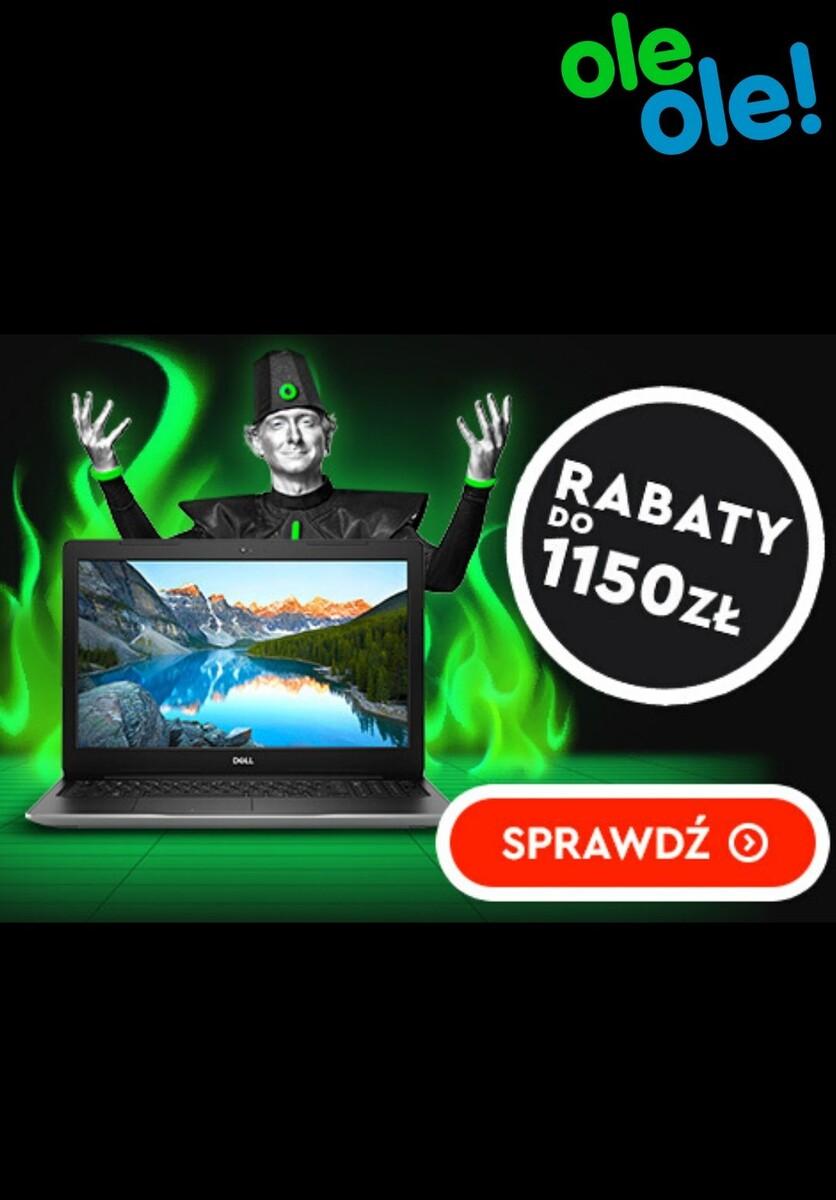 Gazetka OleOle! - Do -1150 zł na laptopy