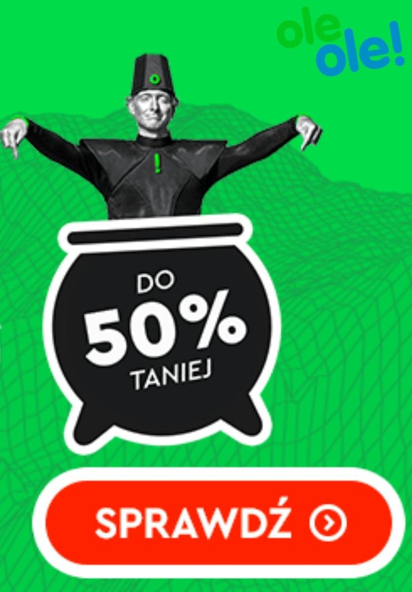Gazetka OleOle! - Do -50% na wyprzedaży