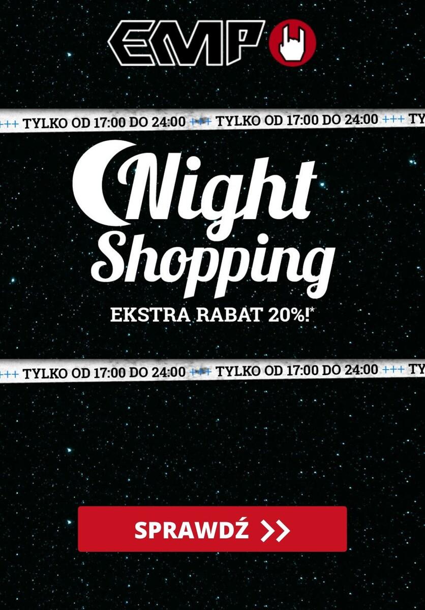 Gazetka EMP - Do -20% Night Shopping