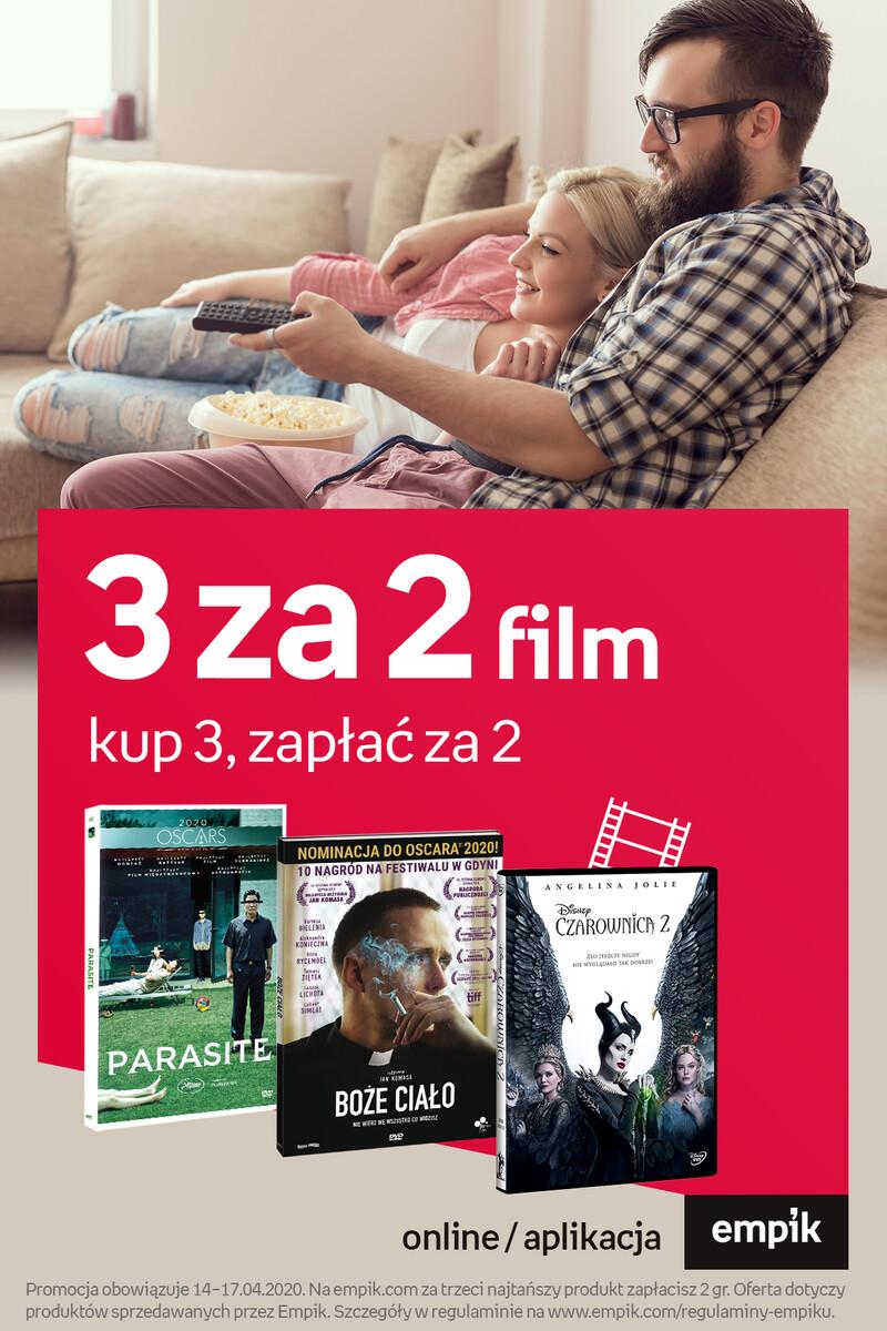 Gazetka Empik - 3 za 2 - film