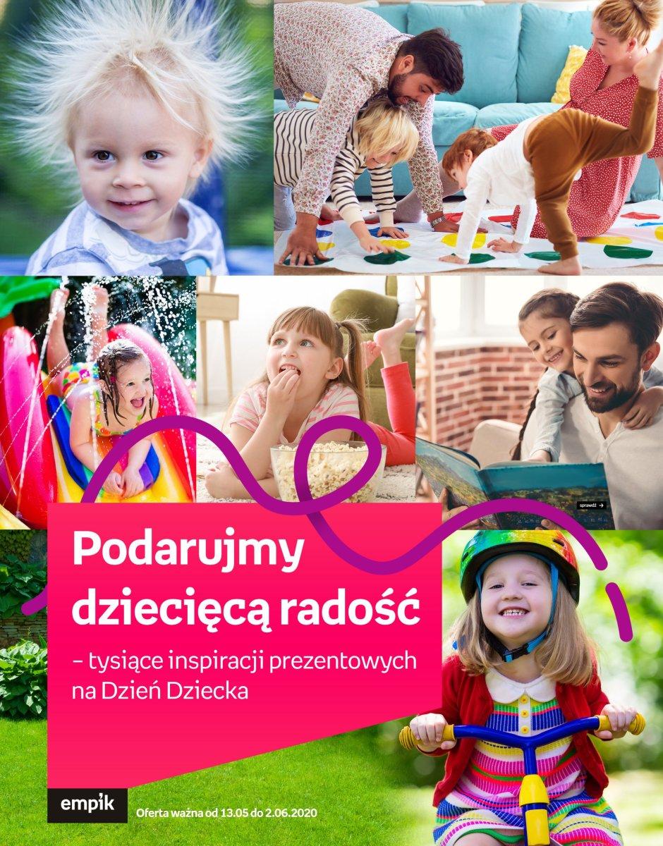 Gazetka Empik - Podarujmy dziecięcą radość