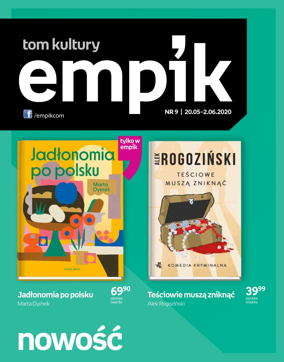 Gazetka Empik - Tom kultury - książka