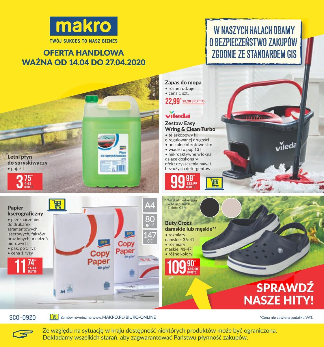 Gazetka Makro - Oferta przemysłowa