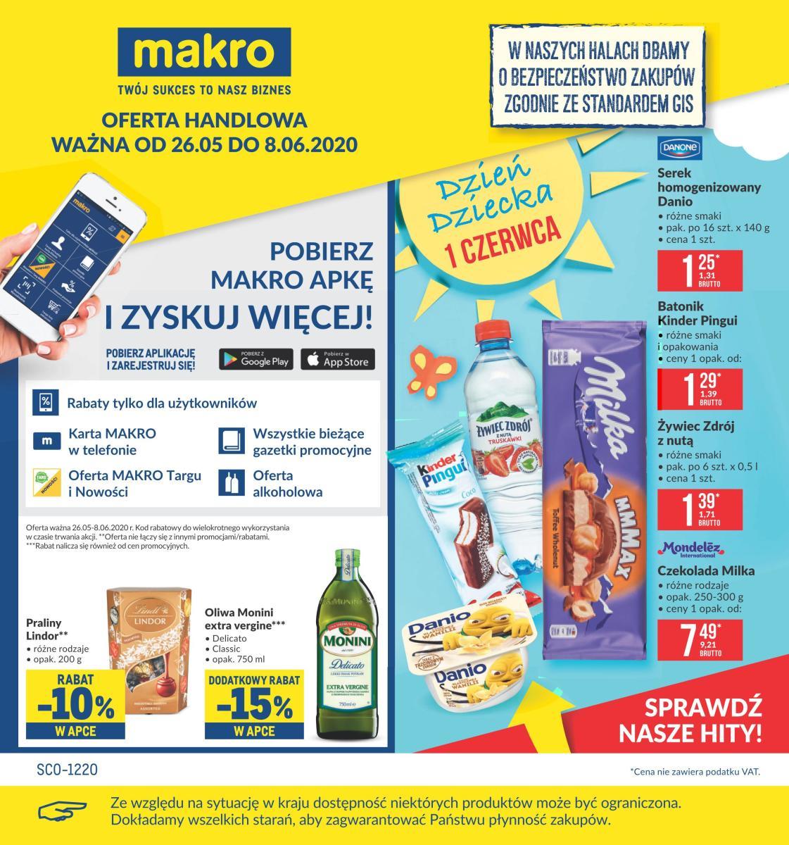 Gazetka Makro - Oferta spożywcza