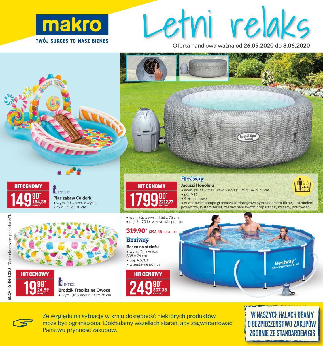 Gazetka Makro - Letni relaks