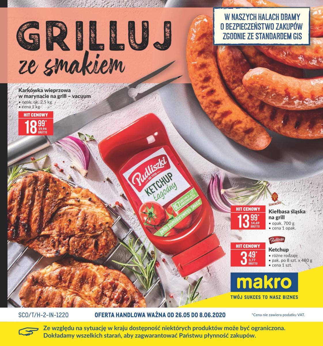 Gazetka Makro - Grilluj ze smakiem