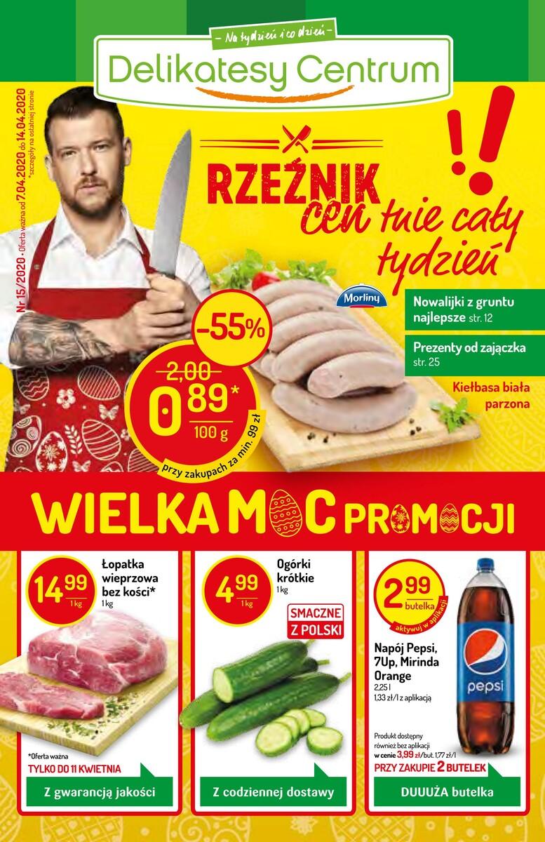 Gazetka Delikatesy Centrum - Gazetka