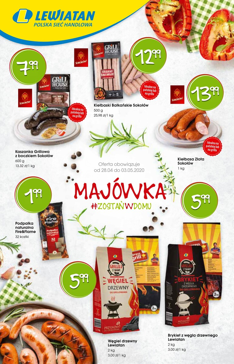 Gazetka LEWIATAN - Ulotka Grill