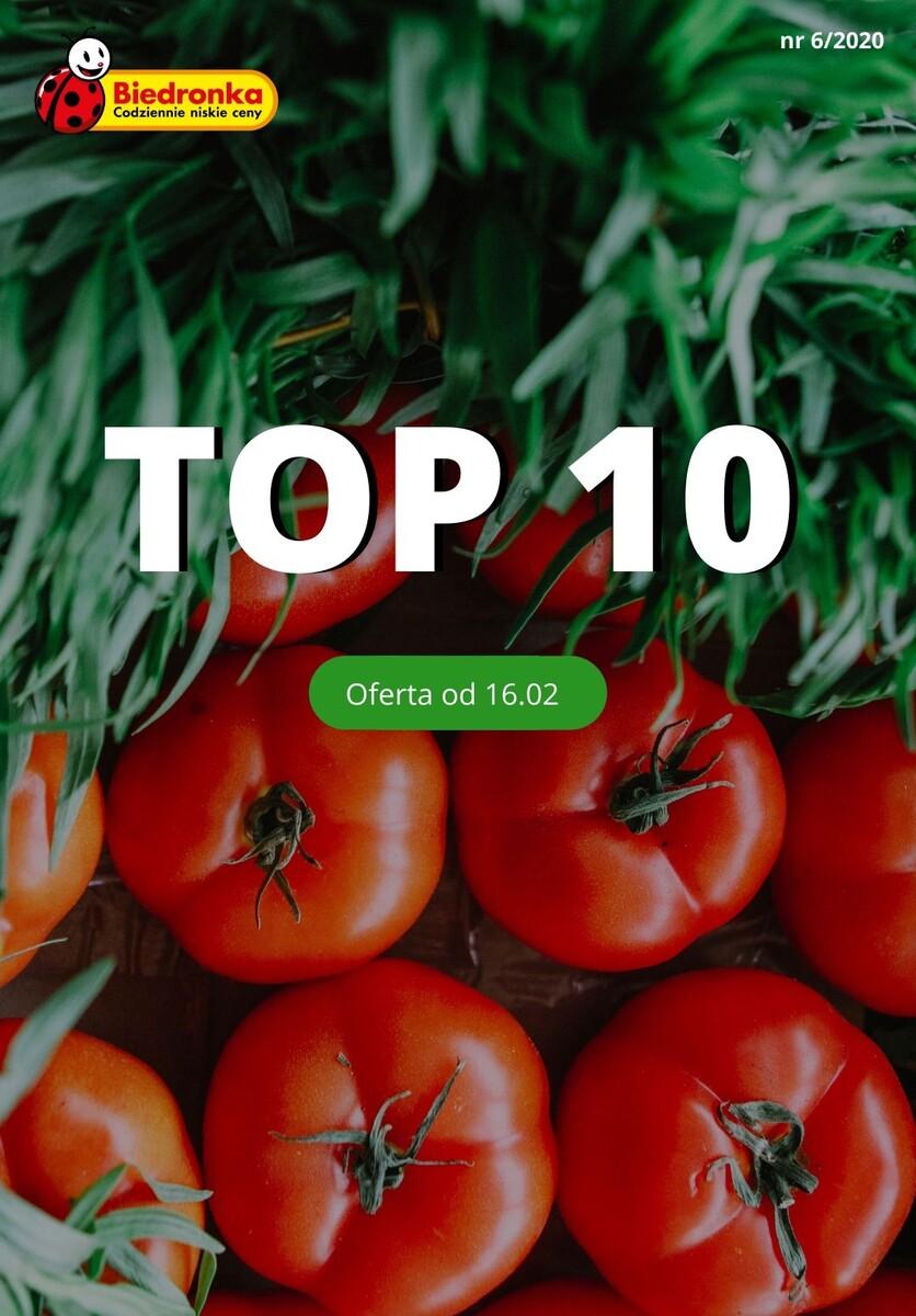 Gazetka Biedronka - TOP 10