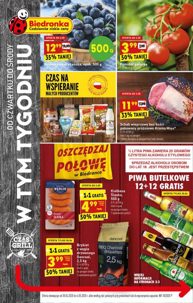 Gazetka Biedronka - W tym tygodniu