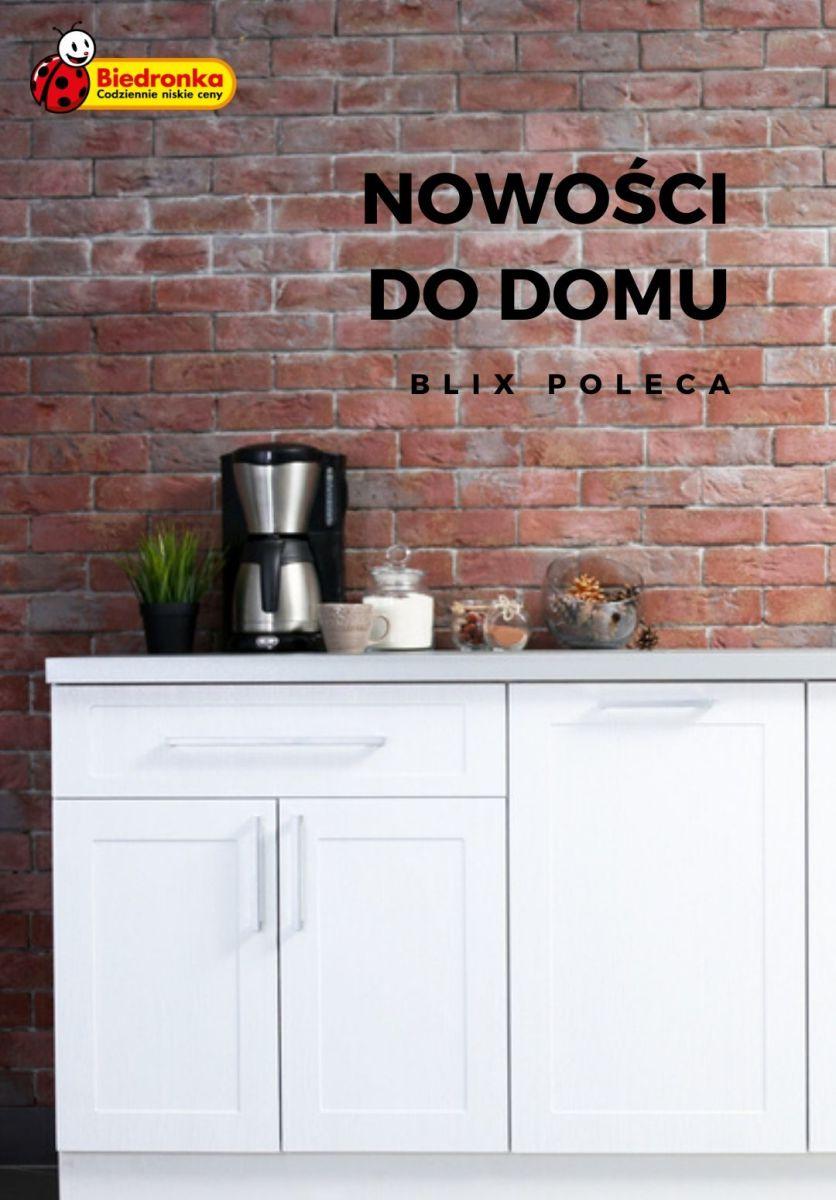 Gazetka Biedronka - Nowości do domu