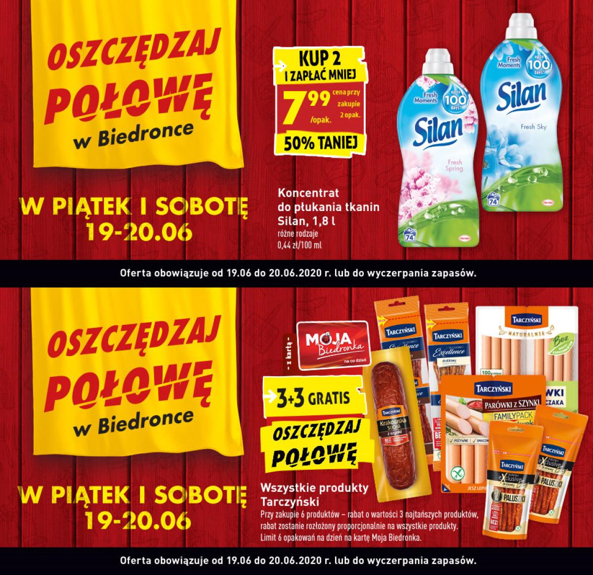 Gazetka Biedronka - Oszczędzaj połowę w Biedronce - W PIĄTEK I SOBOTĘ