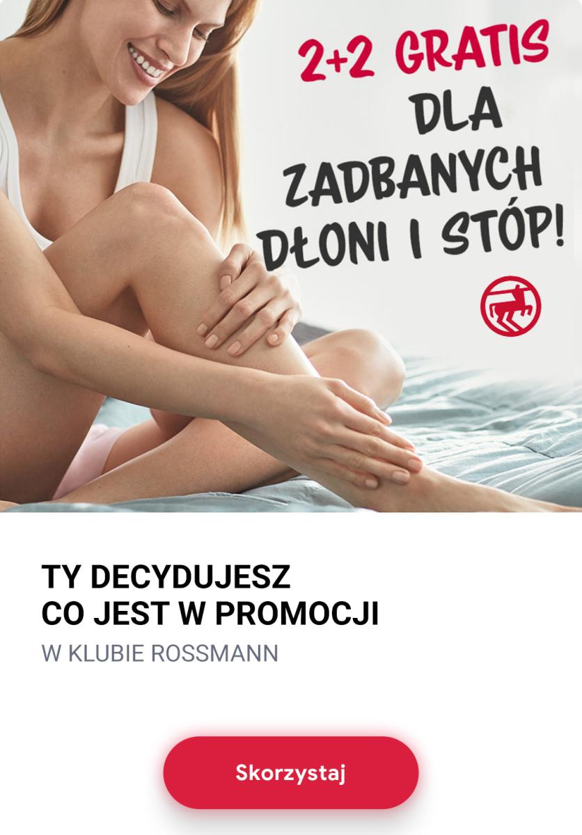 Gazetka Rossmann - 2+2 kosmetyki do pielęgnacji dłoni i stóp dla Klubowiczów