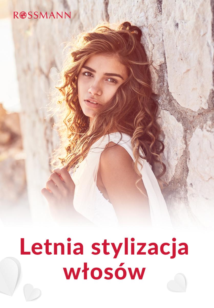 Gazetka Rossmann - Letnia stylizacja włosów