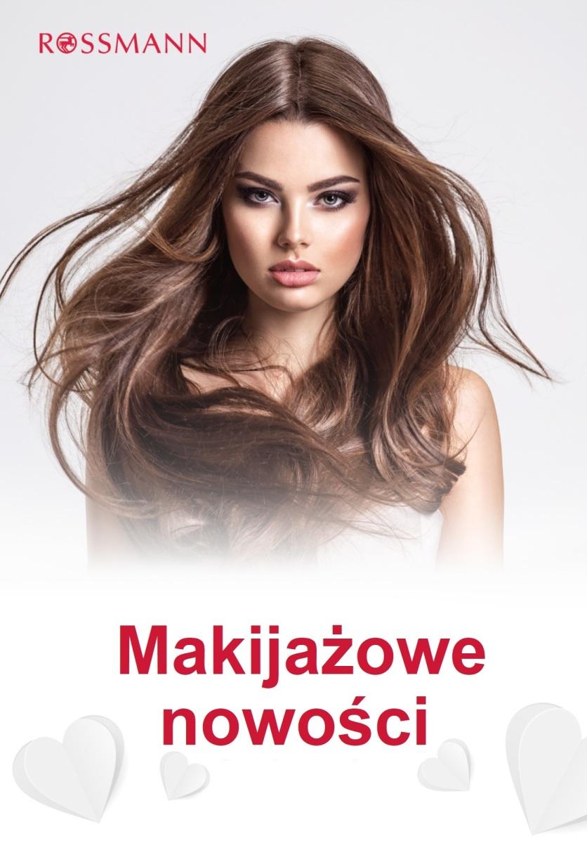Gazetka Rossmann - Makijażowe nowości