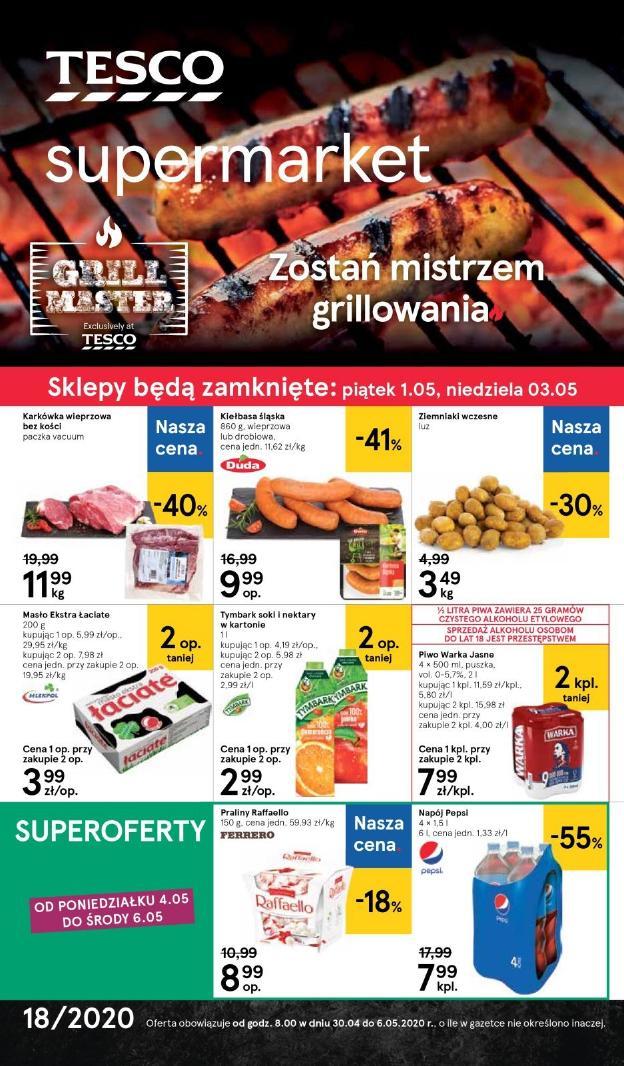 Gazetka Tesco - Gazetka - supermarket