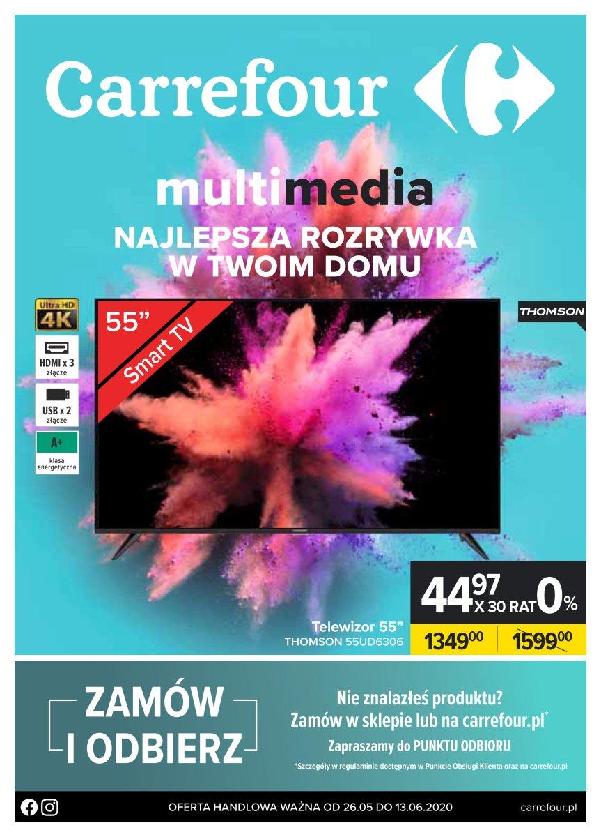 Gazetka Carrefour - Multimedia