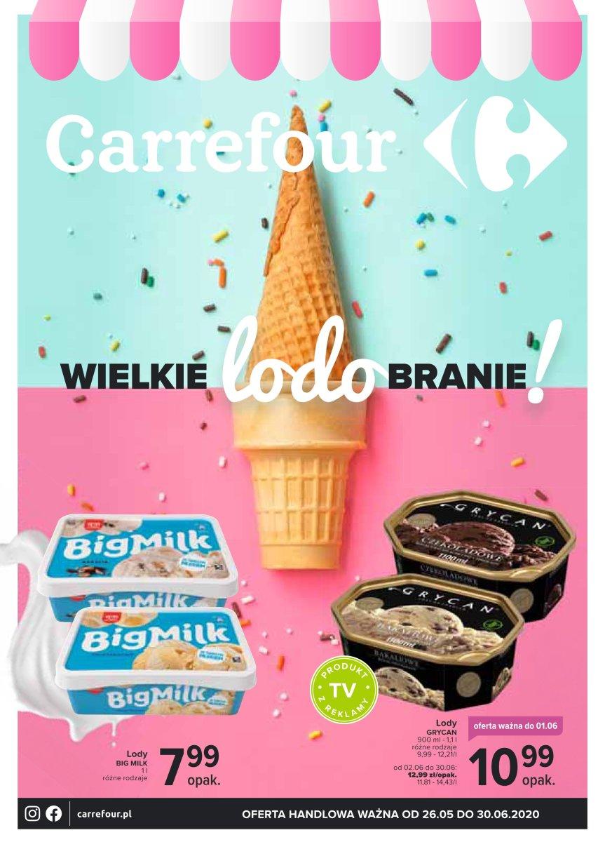 Gazetka Carrefour - Wielkie lodobranie