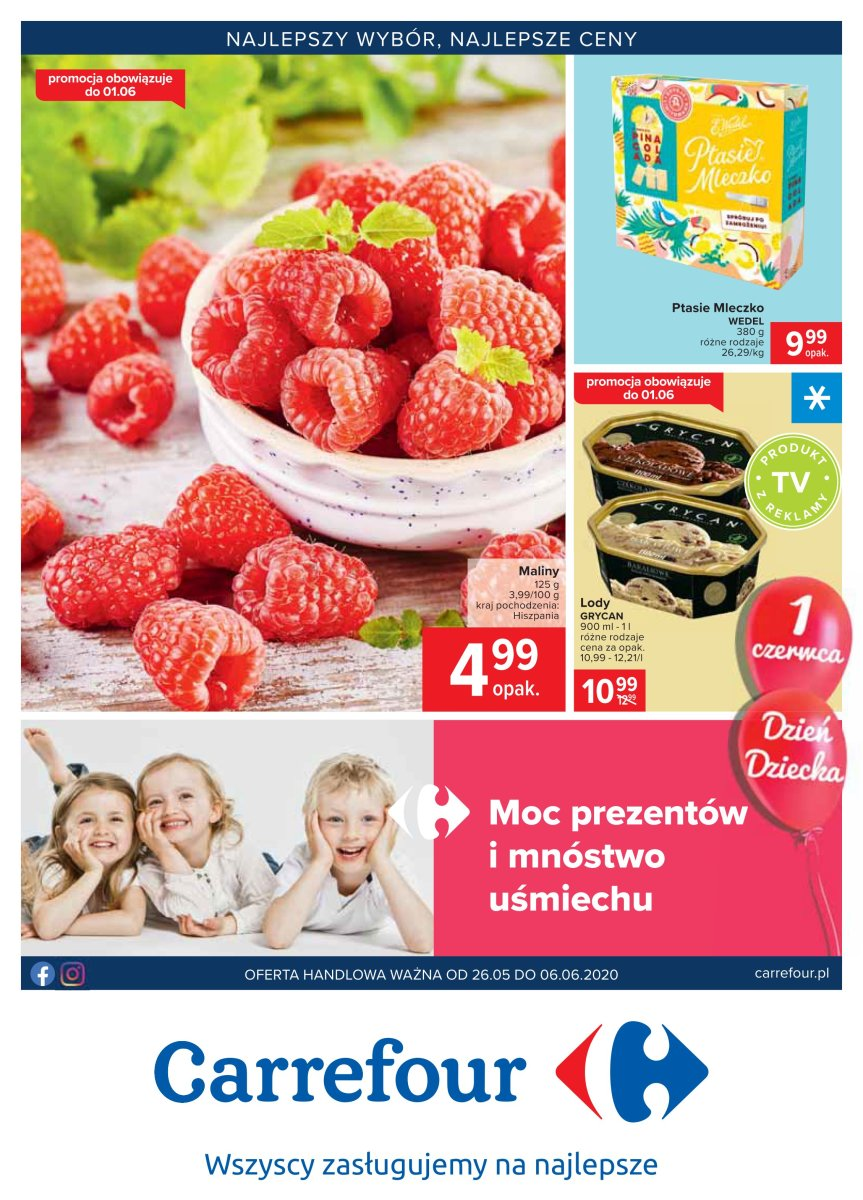 Gazetka Carrefour - Najlepszy wybór, najlepsze ceny