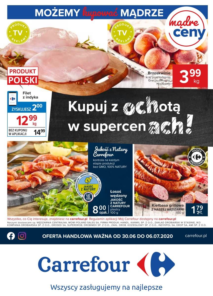 Gazetka Carrefour - Kupuj z ochotą!