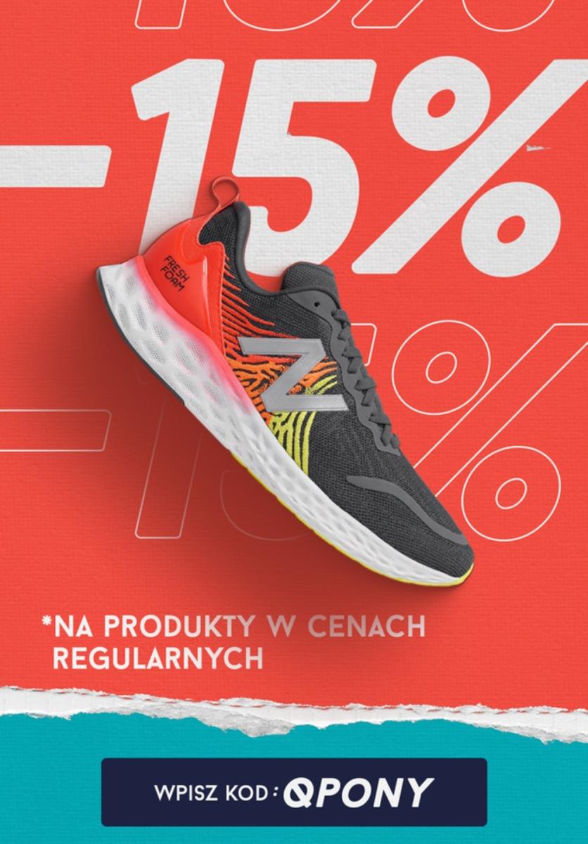 Gazetka 2020 SALE - New Balance | -15% na produkty w cenach regularnych