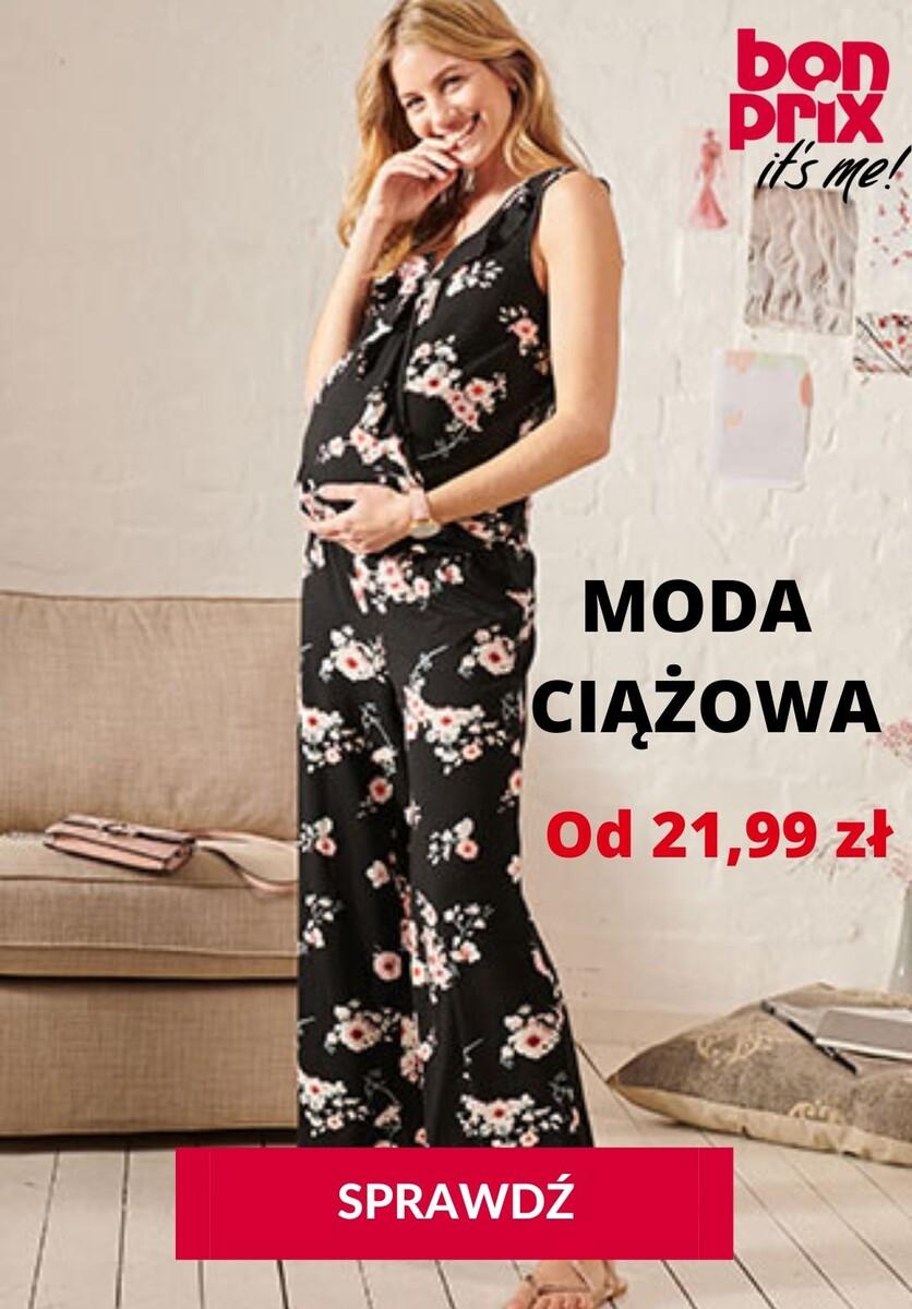 Gazetka bonprix - Moda ciążowa od 21,99 zł