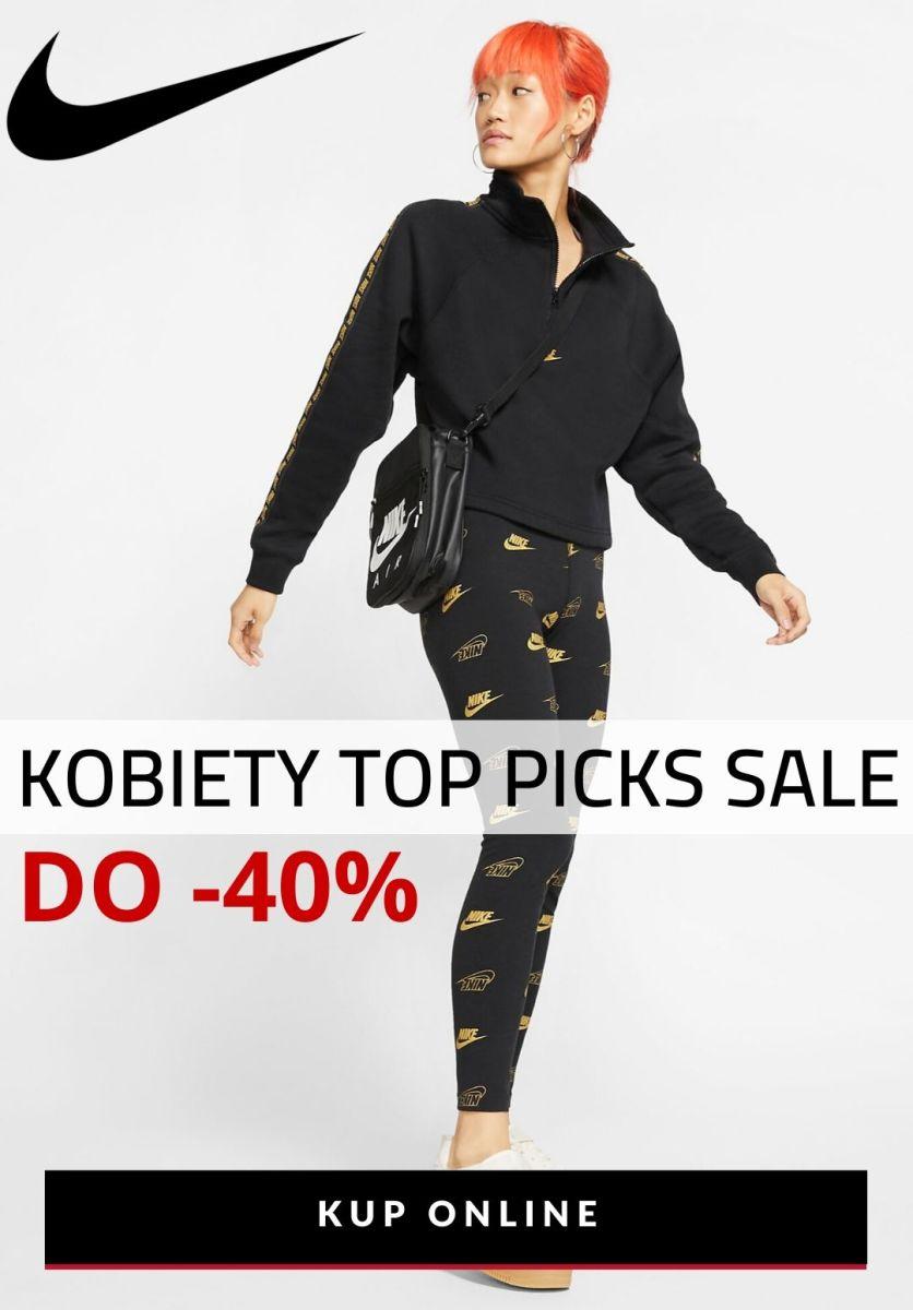 Gazetka NIKE - Do -40% Kobiety Top Picks Sale