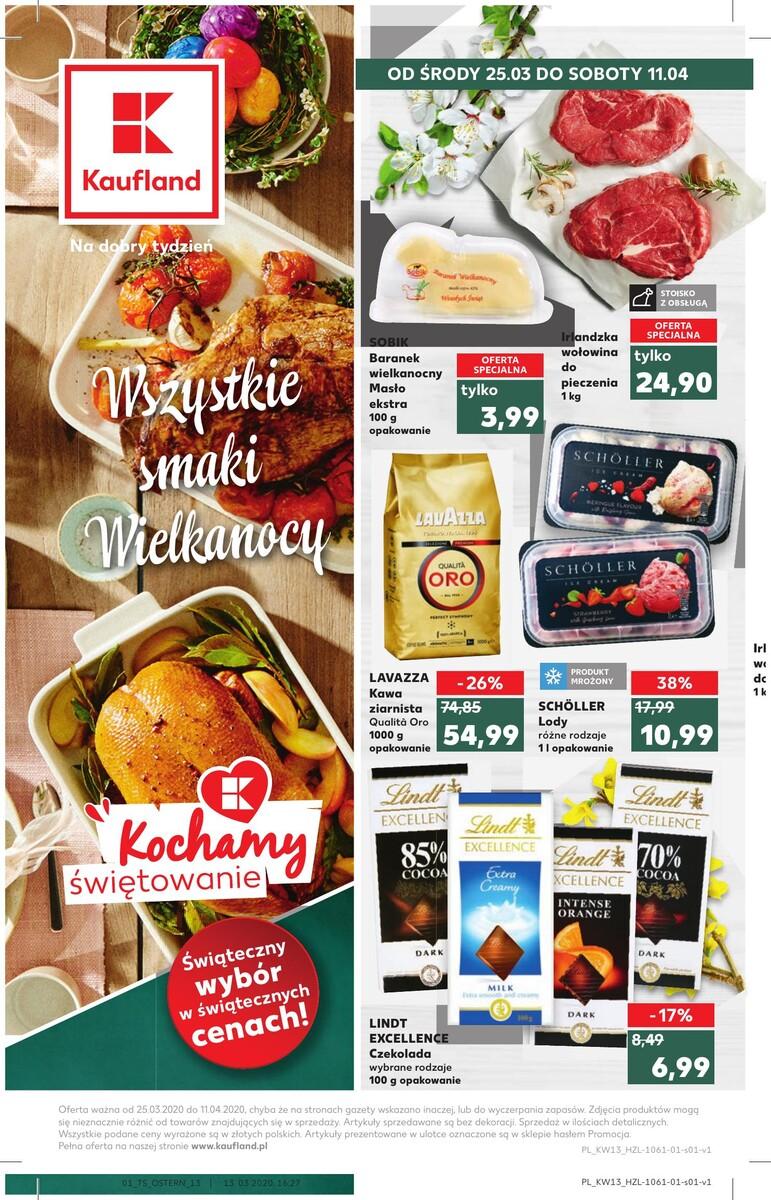 Gazetka Kaufland - Wszystkie smaki Wielkanocy