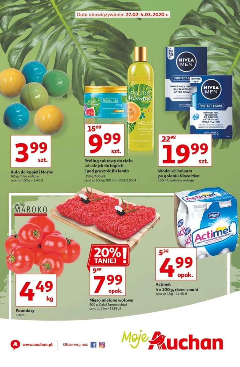Gazetka Auchan - Oferta Moje Auchan