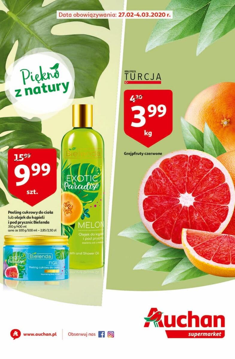 Gazetka Auchan - Oferta - supermarket