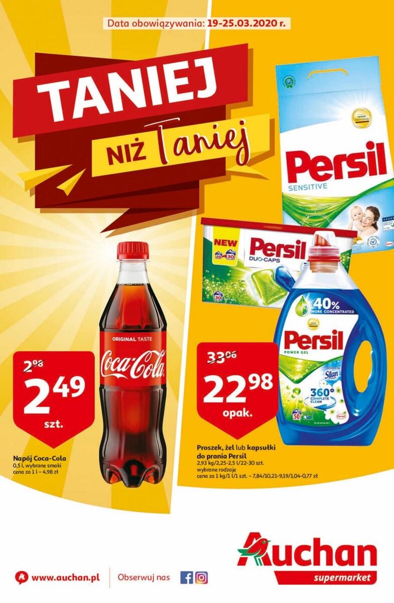 Gazetka Auchan - Taniej niż Taniej - supermarket