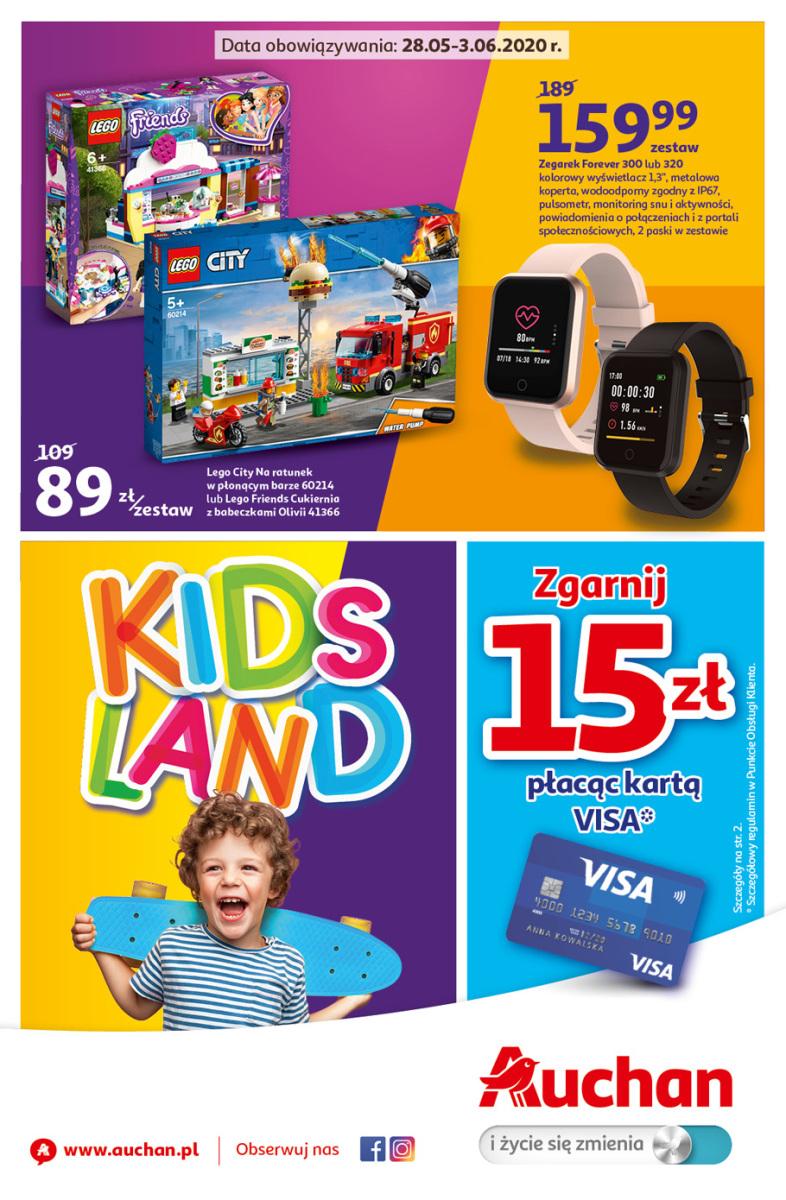 Gazetka Auchan - Kids Land - hipermarket