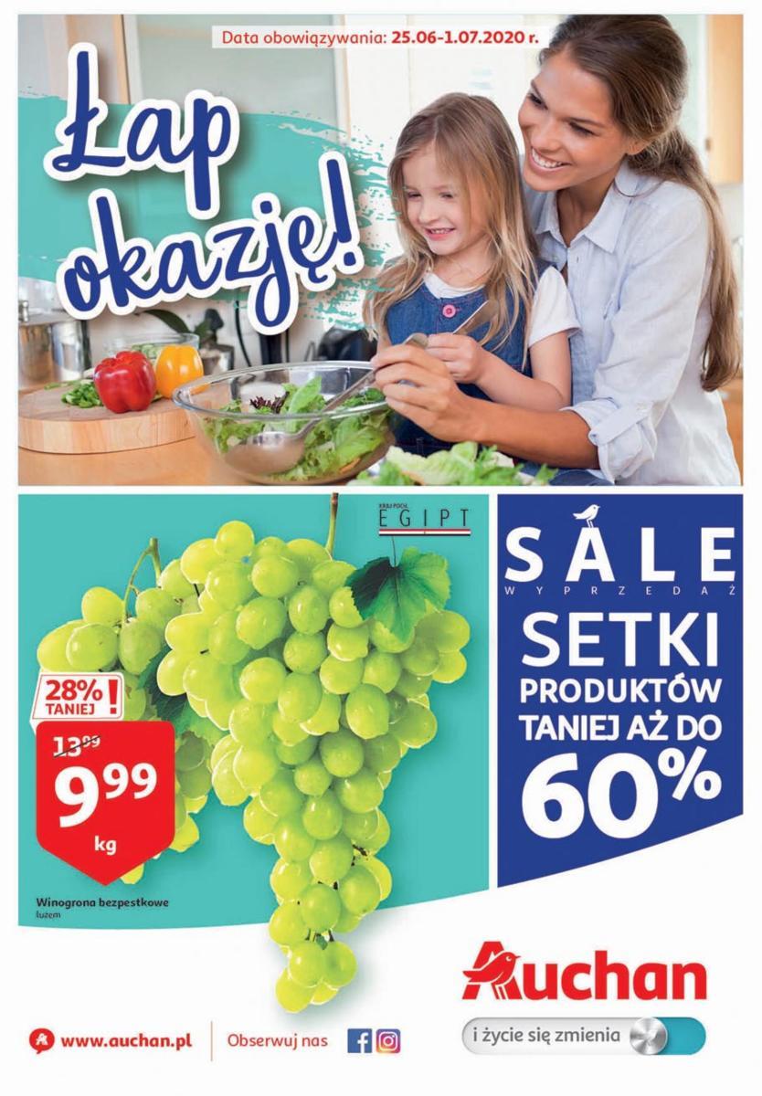 Gazetka Auchan - Łap okazje - hipermarket