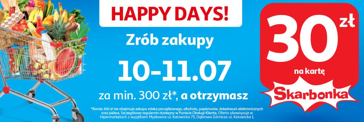 Gazetka Auchan - Happy days!