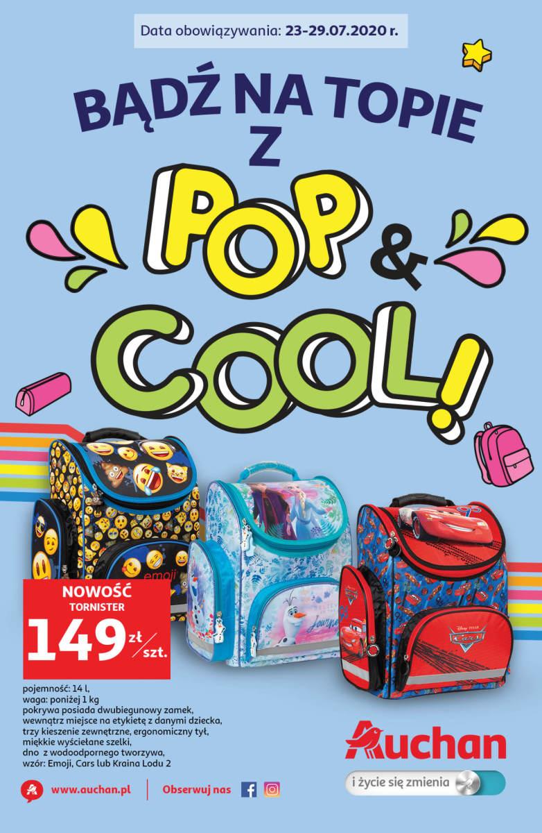 Gazetka Auchan - Bądź na topie z Pop&Cool