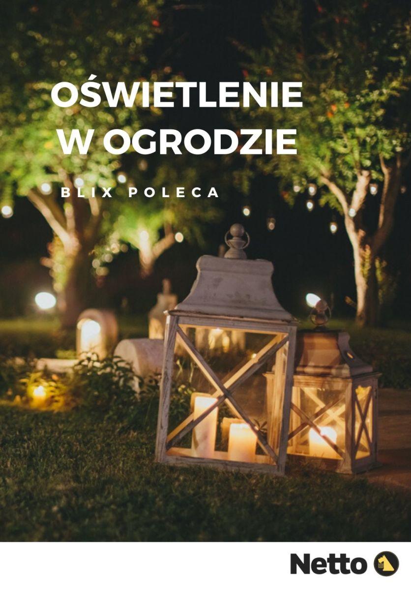 Gazetka Netto - Oświetlenie w ogrodzie