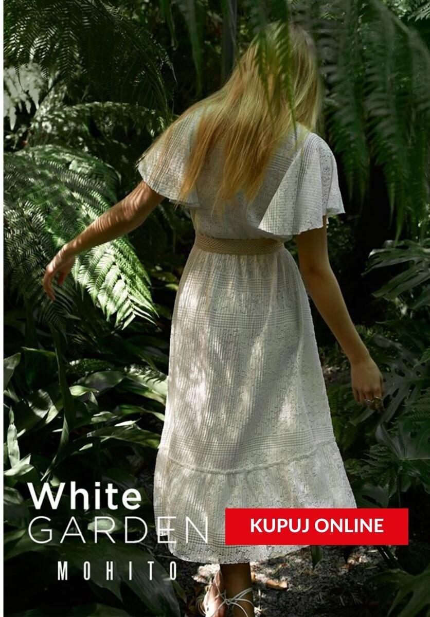 Gazetka Mohito - Od 19,99 zł kolekcja White Garden