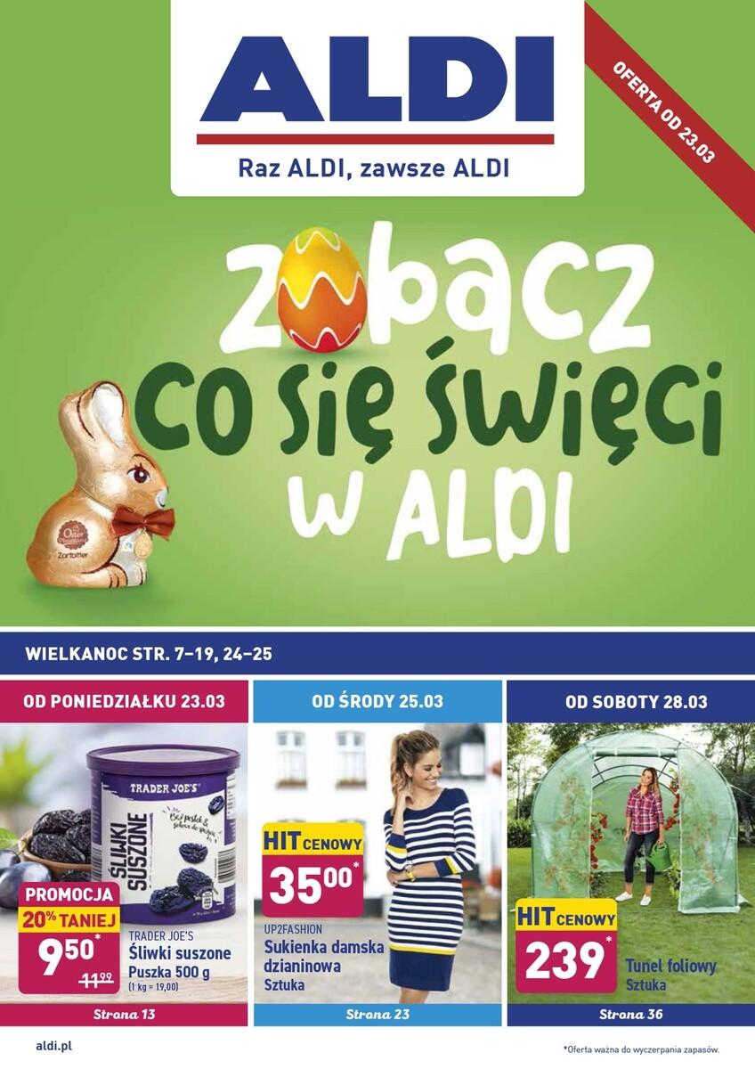 Gazetka Aldi - Okazje tygodnia od 23.03