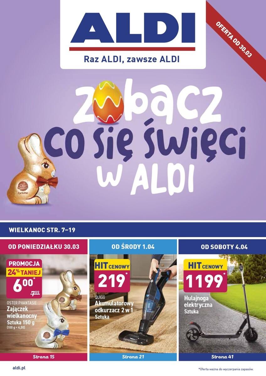 Gazetka Aldi - Okazje tygodnia od 30.03