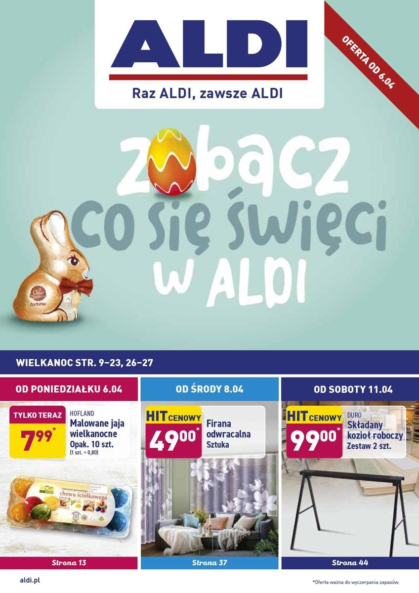 Gazetka Aldi - Okazje tygodnia od 06.04
