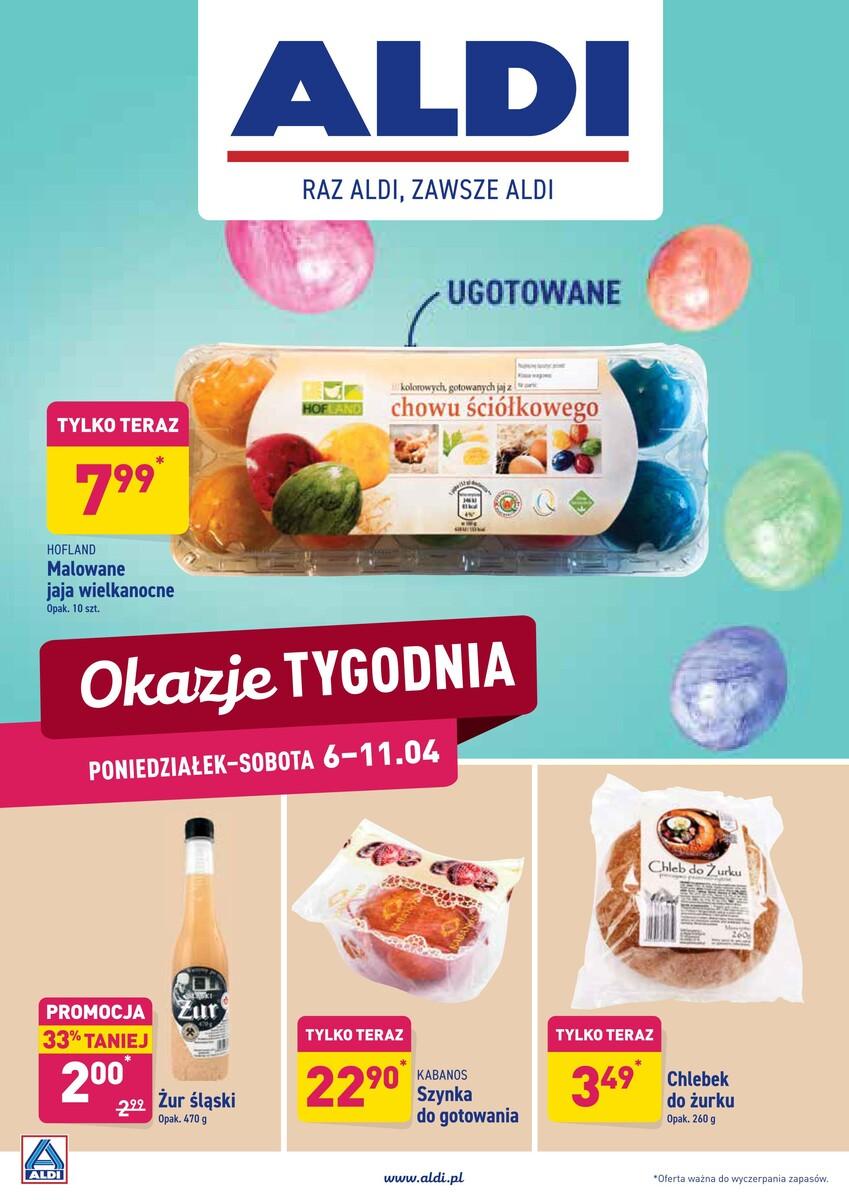 Gazetka Aldi - Okazje od poniedziałku 06.04