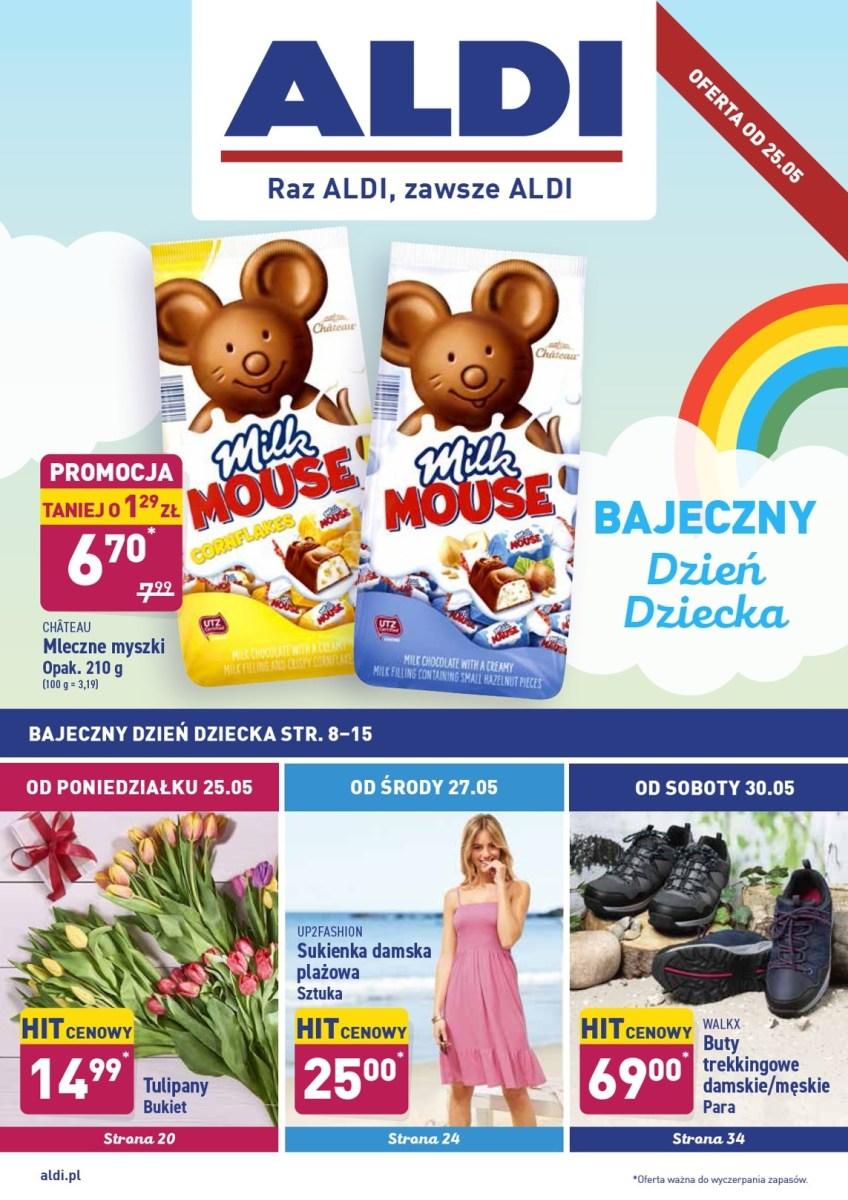 Gazetka Aldi - Okazje tygodnia od 25.05