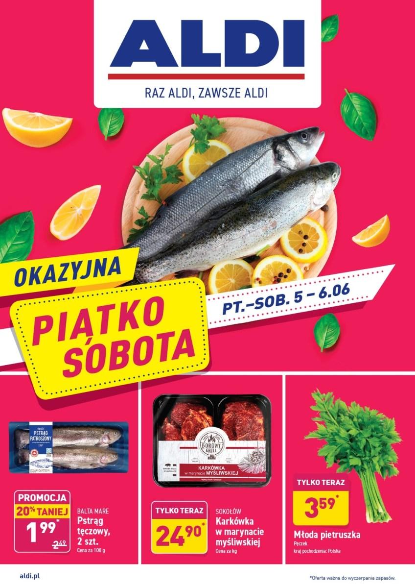 Gazetka Aldi - Okazyjna Piątko-Sobota 05.06