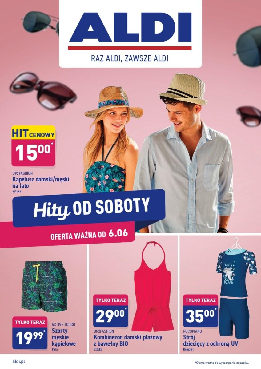 Gazetka Aldi - Hity od soboty 06.06