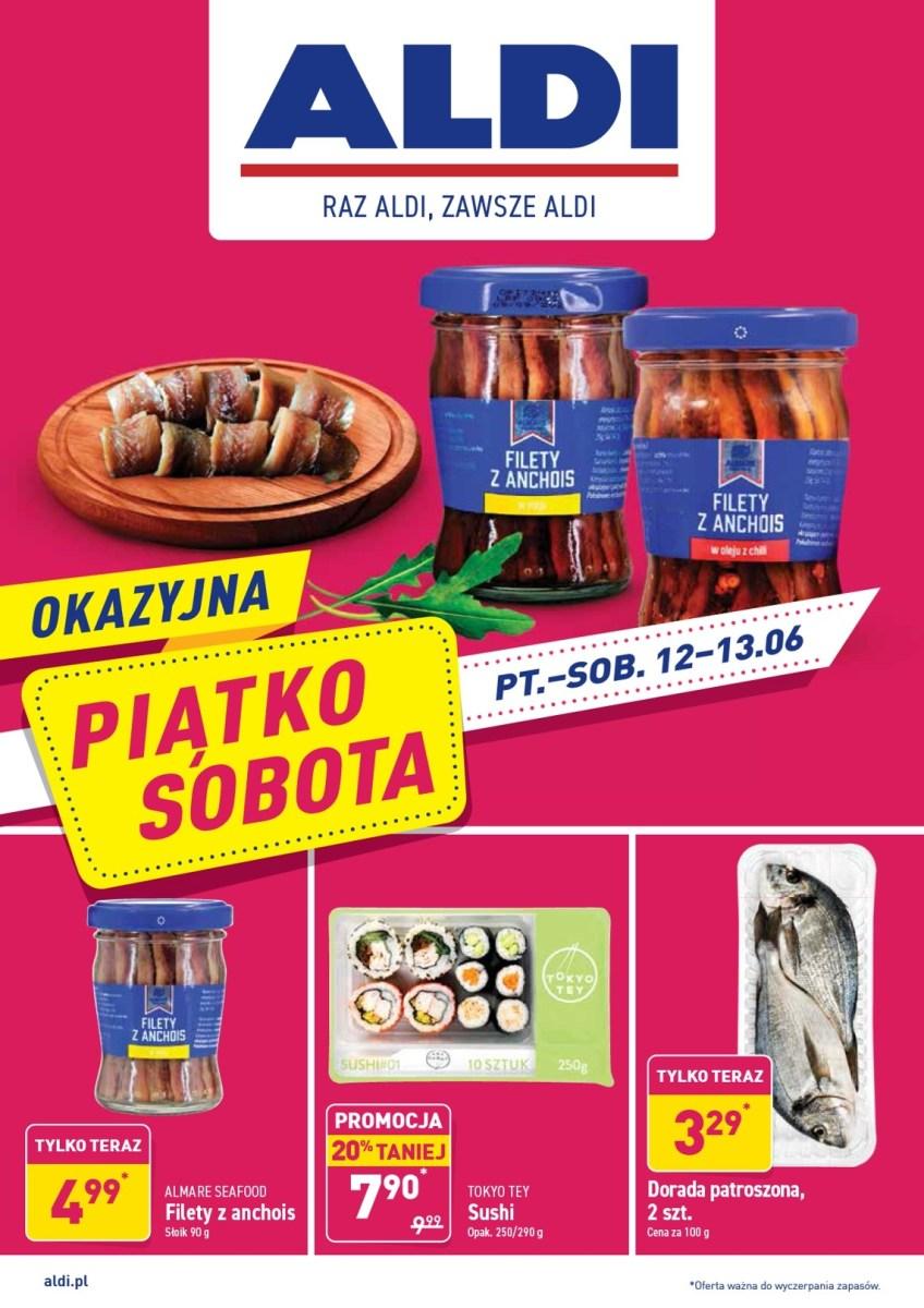 Gazetka Aldi - Okazyjna Piątko-Sobota od 12.06
